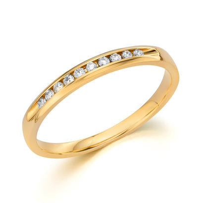 14k Yellow Gold Anniversary Band 510009641