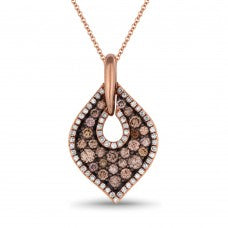 PDN4172 14k Rose Gold Pendant