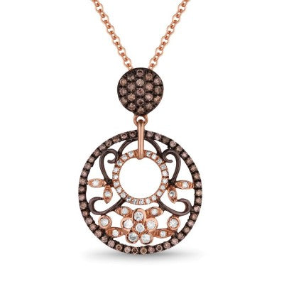 PDN4374 14k Rose Gold Pendant