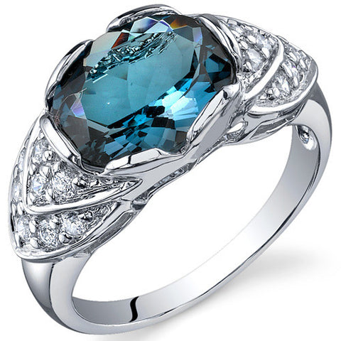 RSR10146 London Blue Topaz Ring