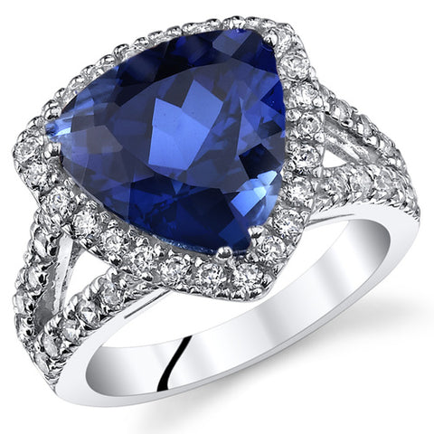 RSR11042 Sapphire Sterling Ring