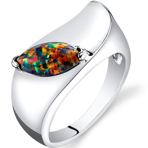 RSR11250 Created Opal Ring