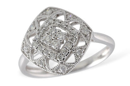 Ladies Damond Ring D5404