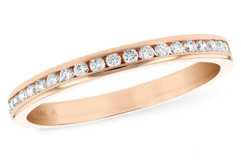 14k Rose Gold Anniversary Band W1677