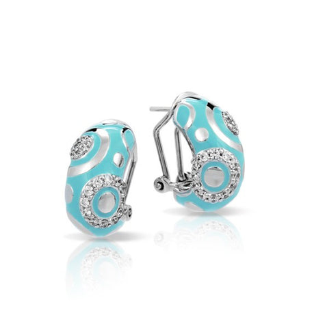 Galaxy Turqoise Earrings Sterling Silver 102379