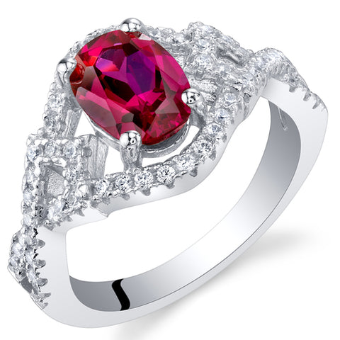 RSR11638 Created Ruby Ring