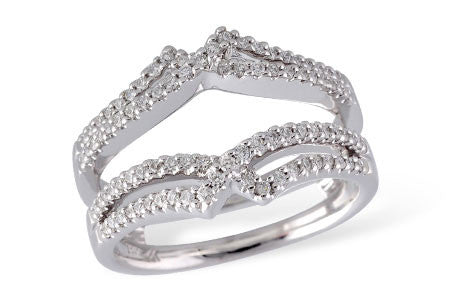 14k White Gold Wrap W1892