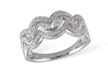 14k White Gold Fashion Ring W2028