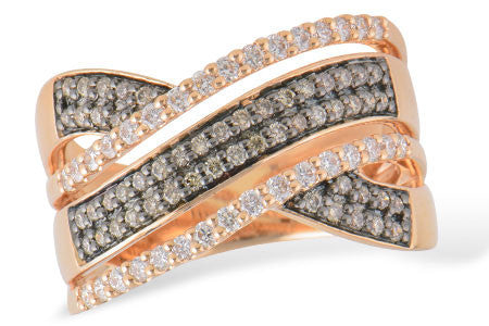 14k Rose Gold Ring W2157