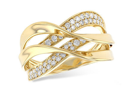 14k Yellow Gold Fashion Ring W2199