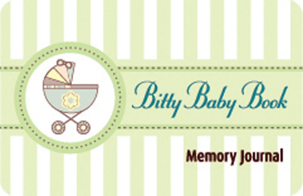 Bitty Baby Book Memory Journal