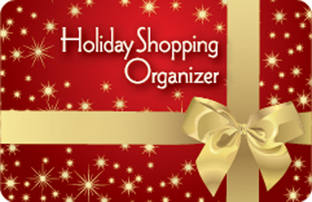 Holiday Shopping Organizer