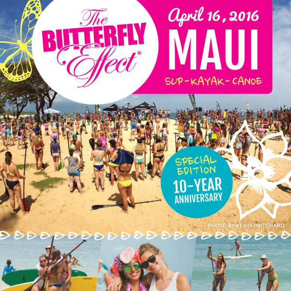 Join us for THE BUTTERFLY EFFECT