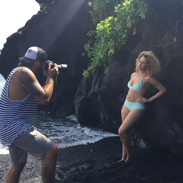 Hana, Maui Swimwear Photo Shoot