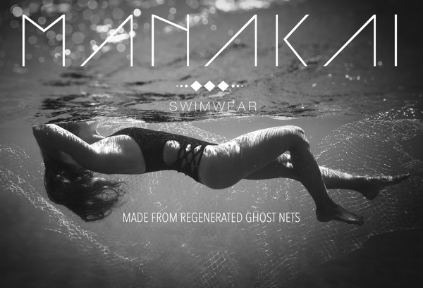 Manakai Swimwear made from Regenerated Nylon