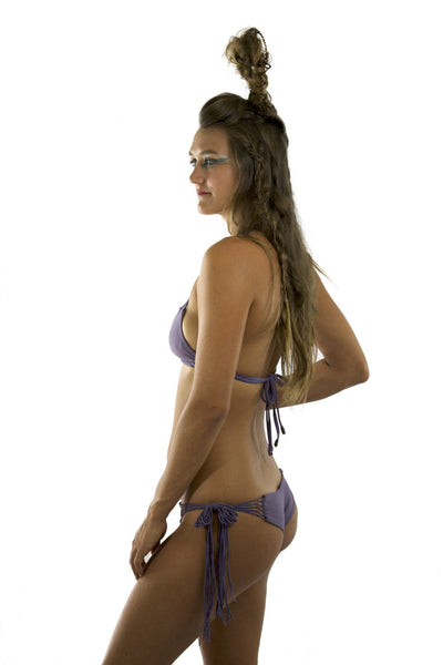Palo Santo Side Tie Bikini Bottom Maui Sustainable Swimwear