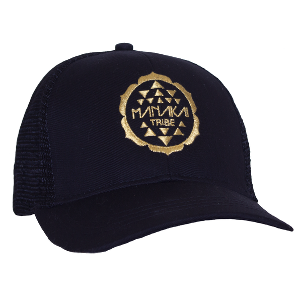 Manakai Tribe Hat Black