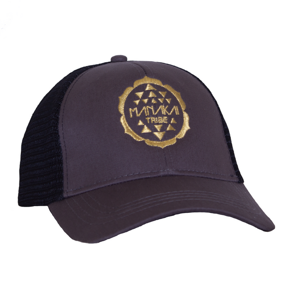 Manakai Tribe Hat Charcoal