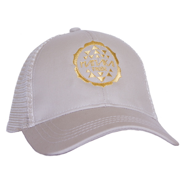 Manakai Tribe Hat White
