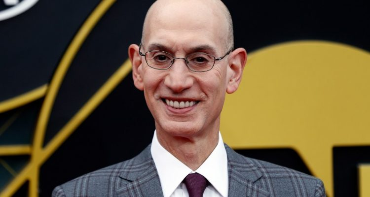 ADAM SILVER WANTS NBA PLAYERS TO GET THE COVID-19 VACCINE TO INSPIRE THOSE IN THE AFRICAN AMERICAN COMMUNITY