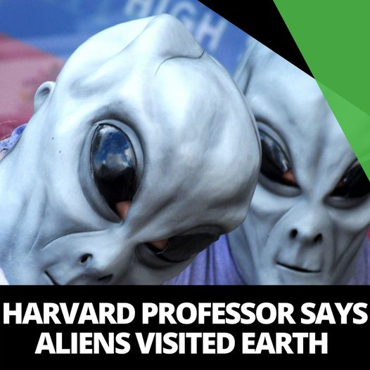 Harvard Professor Says Alien Technology Visited Earth in 2017