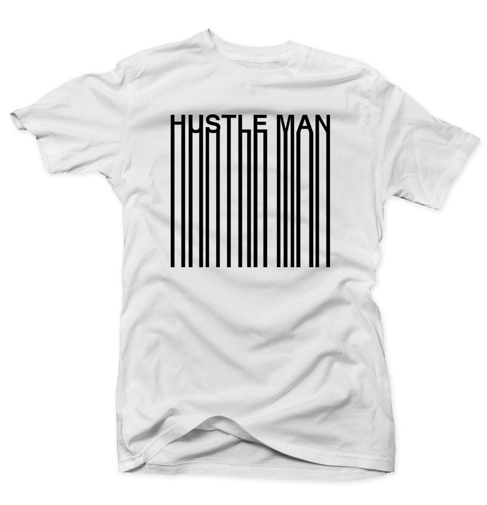 Hustle Bars - White Tee