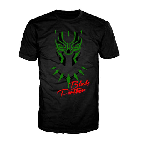 Wakanda Mask - Black Tee