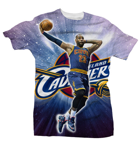 Lebron James - Greatness Within - All Over Tee
