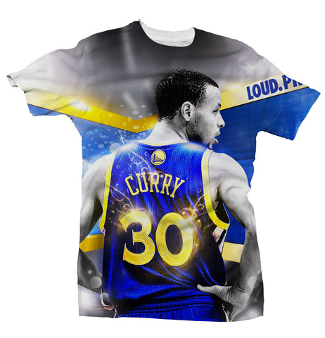 Steph Curry - Back At It - All Over Tee