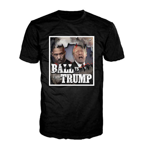 Lavar Ball Vs. Trump - Black Tee