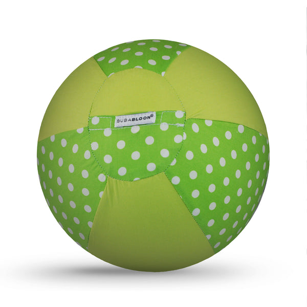BUBABLOON Dots and Spots Green