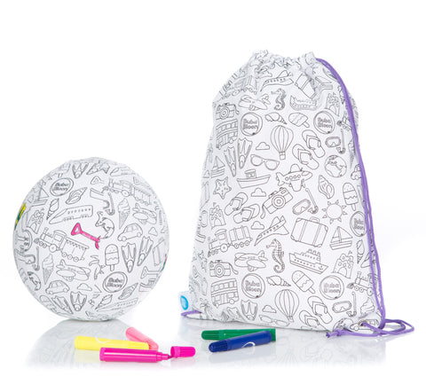 BubaBloon Colour Your Own Twin Pack