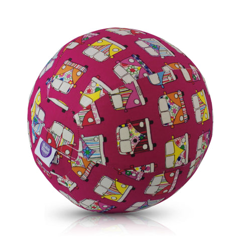 BubaBloon Happy Campers Cerise Pink - Made in the UK