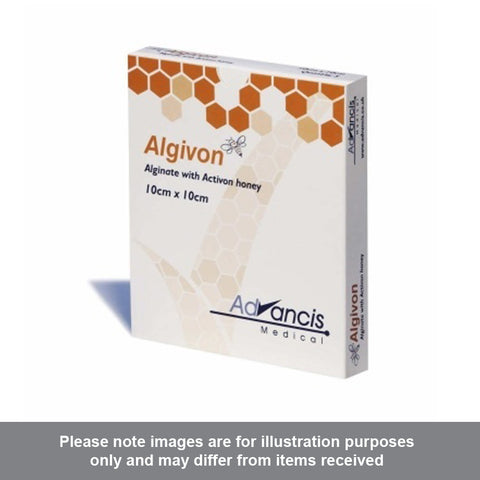 Algivon Manuka Honey Dressing 10cm x 10cm