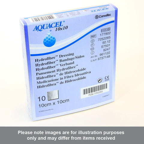 Aquacel Hydrofiber Dressing 10cm x 10cm - Pharmacy4Life
