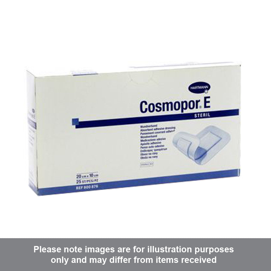Cosmopor E Adhesive Dressing 20cm x 10cm Pack of 25 - Pharmacy4Life