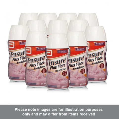 Ensure Plus Fibre Raspberry Flavour Multipack