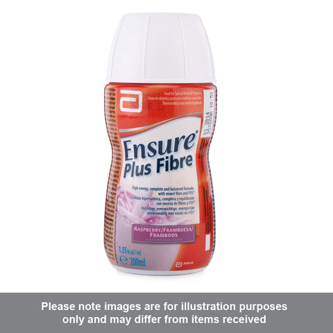 Ensure Plus Fibre Raspberry Flavour
