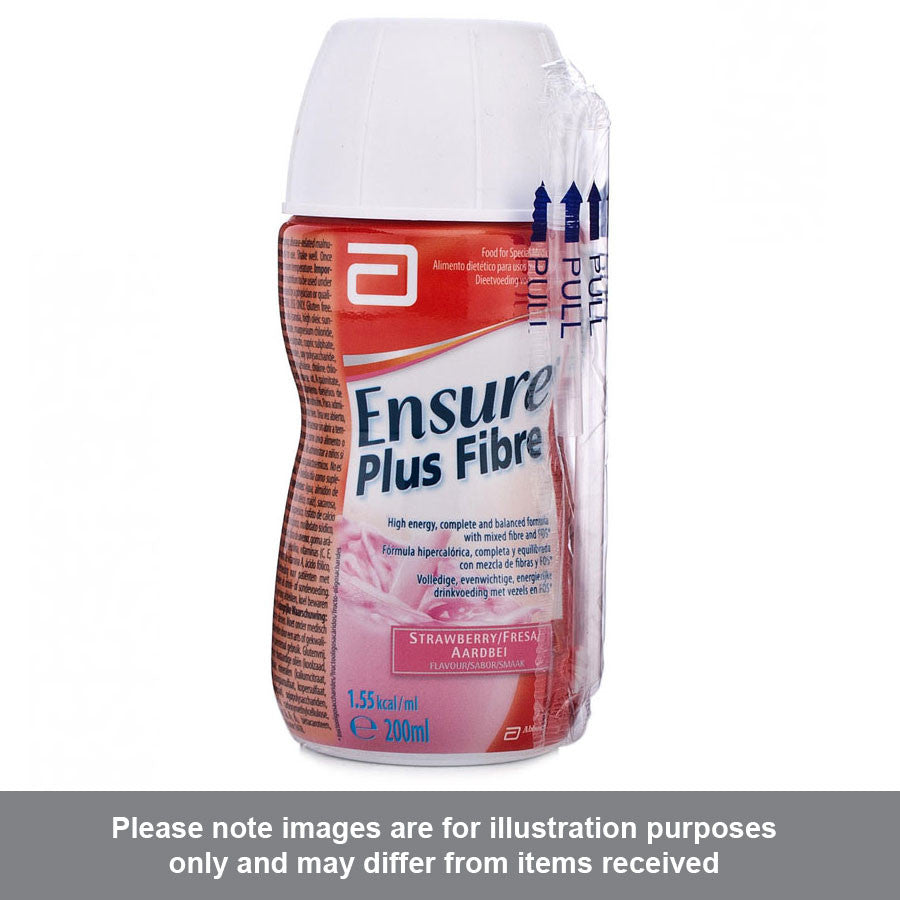 Ensure Plus Fibre Strawberry Flavour - Pharmacy4Life