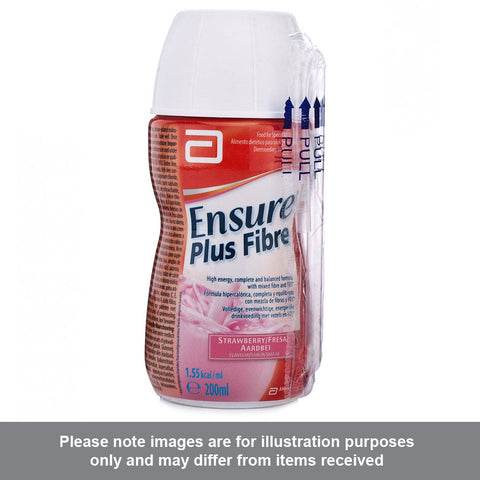 Ensure Plus Fibre Strawberry Flavour