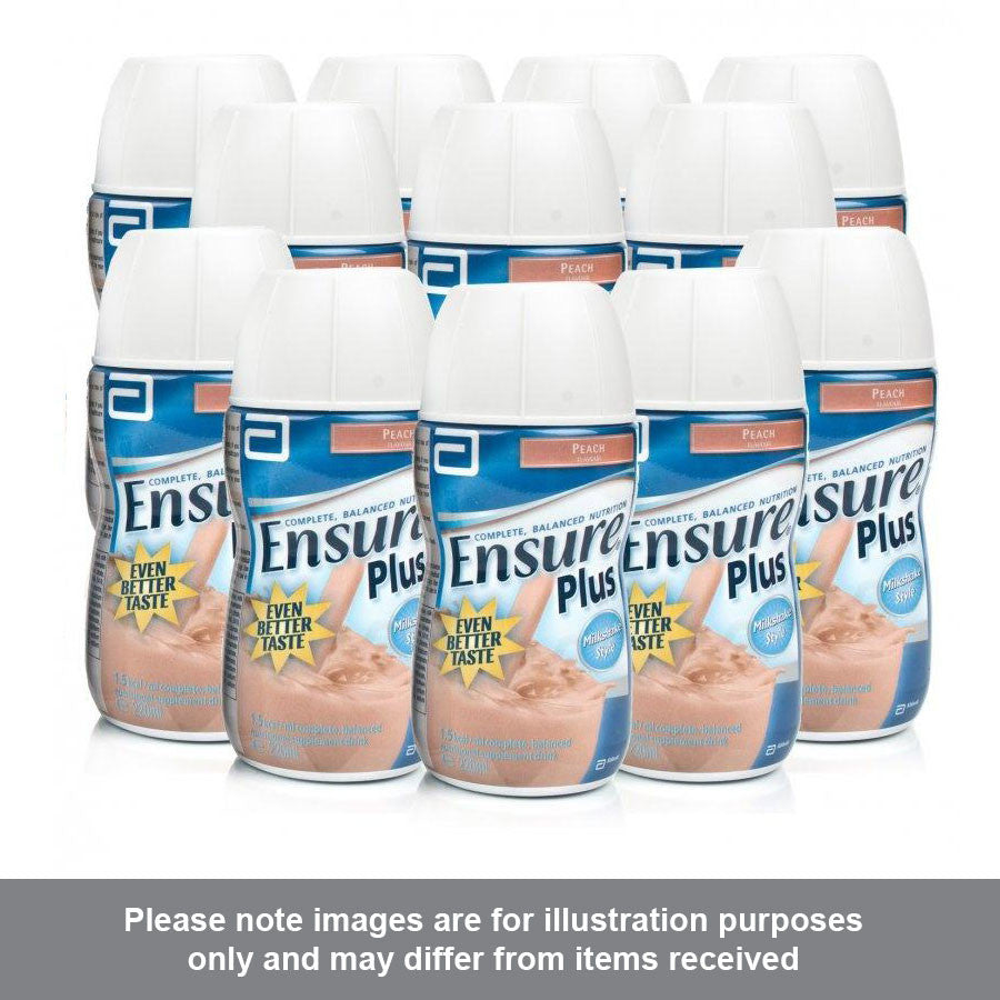 Ensure Plus Peach Flavour Multipack - Pharmacy4Life