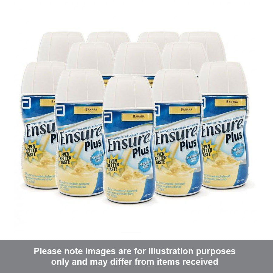 Ensure Plus Milkshake Banana Flavour Multipack - Pharmacy4Life