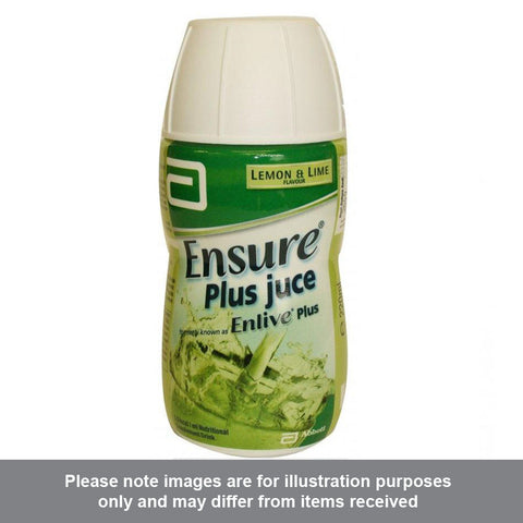 Ensure Plus Juce Lemon & Lime Flavour