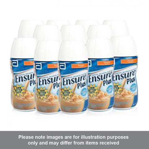 Ensure Plus Orange Flavour Multipack