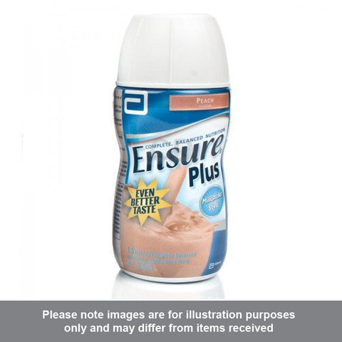 Ensure Plus Peach Flavour