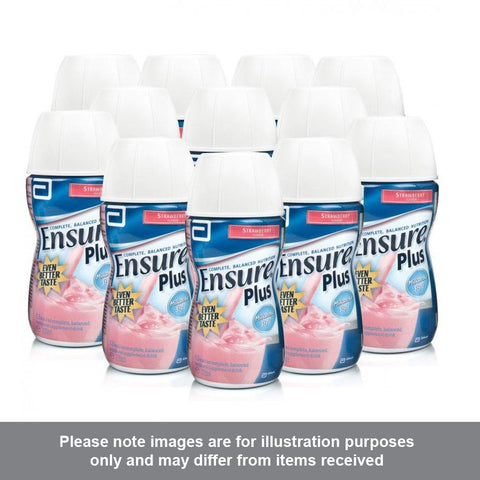 Ensure Plus Strawberry Flavour Multipack