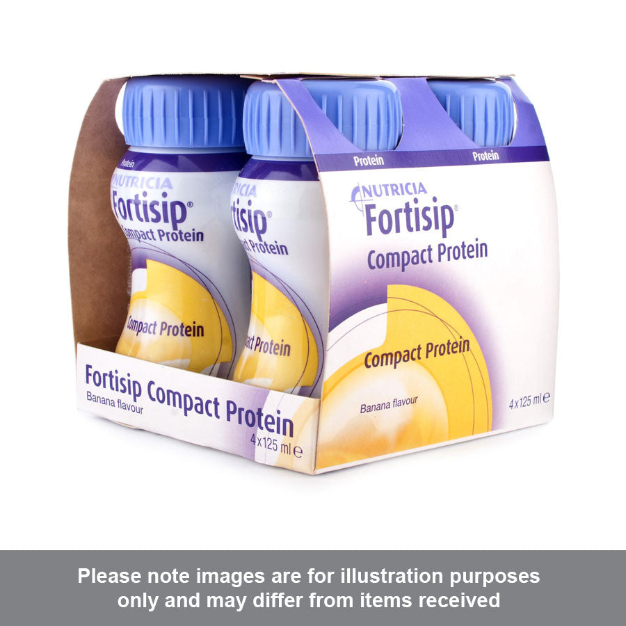 Fortisip Compact Protein Liquid Banana Flavour - Pharmacy4Life