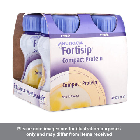 Fortisip Compact Protein Vanilla Flavour