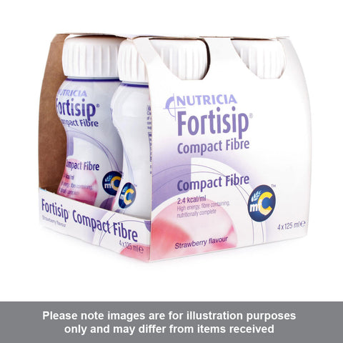 Fortisip Compact Fibre Strawberry Flavour