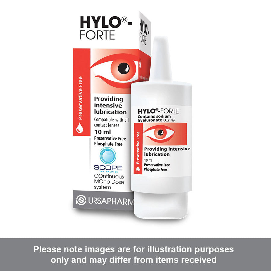HYLO-Forte Eye Drops 10ml - Pharmacy4Life
